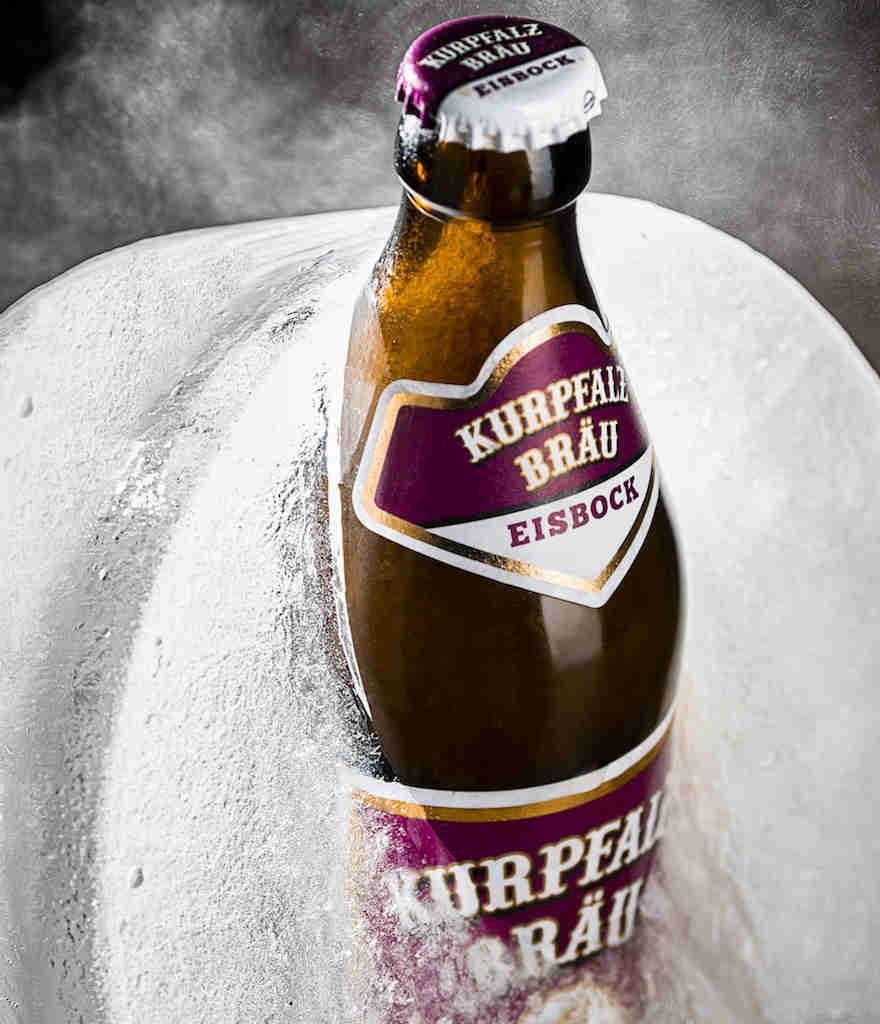 Starkes Bier aus dem Eis