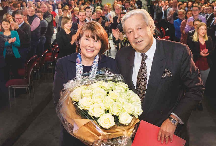 Susanne Veltins feiert Jubiläum