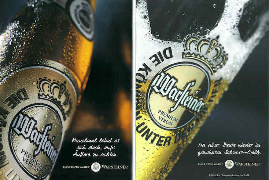 Warsteiner Werbemotive 2002