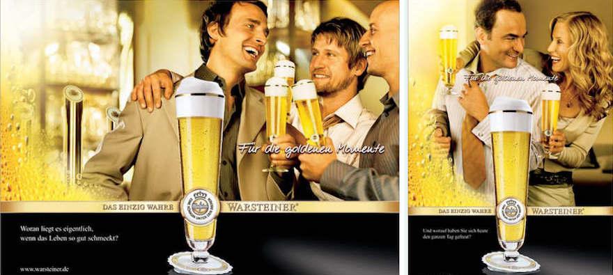 Warsteiner Werbemotiv von 2004