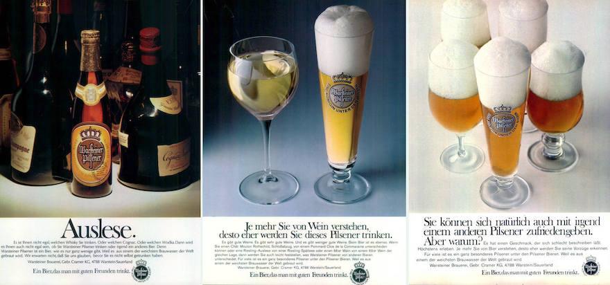 Warsteiner Werbemotive 1971