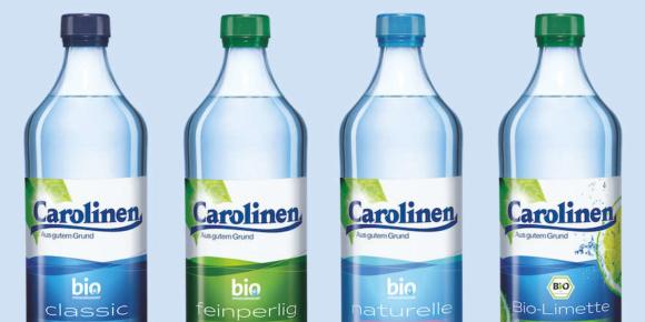 Carolinen zeigt sich in Individualflasche