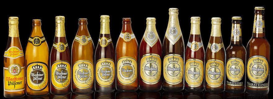 Warsteiner Flaschenhistorie