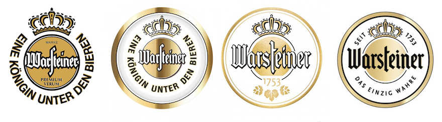 Warsteiner Logos