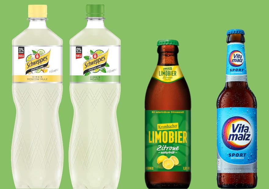 Neue Produkte der Krombacher Gruppe
