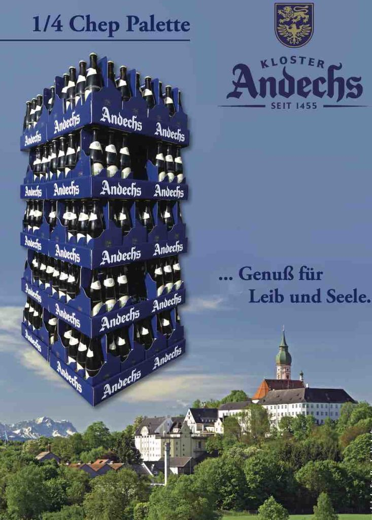 6er-Träger Bierspezialitäten Kloster Andechs
