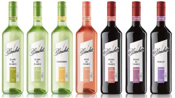Blanchet mit neuem Flaschen-Design