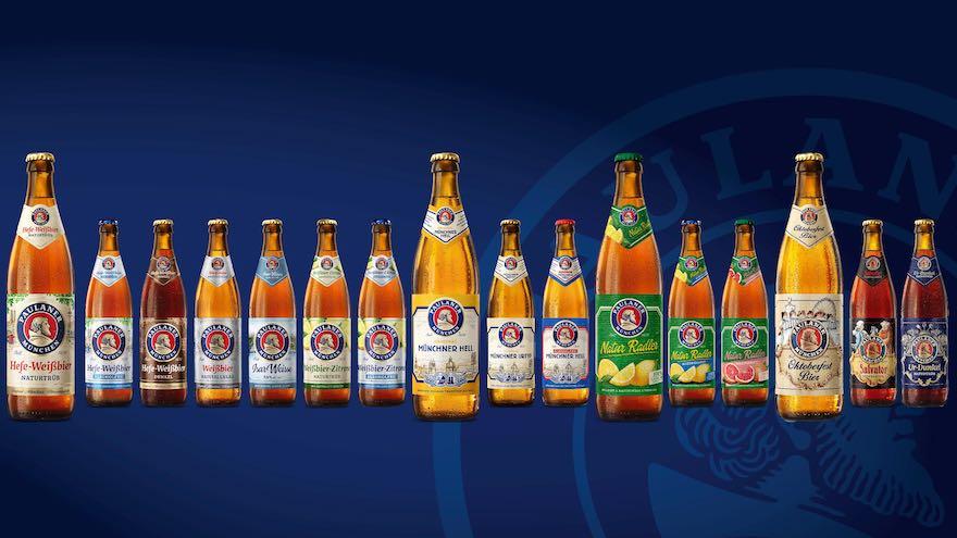 Paulaner_Übersicht Flaschen im neuen Design (c) Paulaner