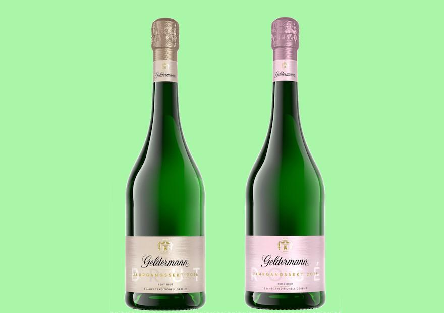 zwei neue Geldermann-Cuvée