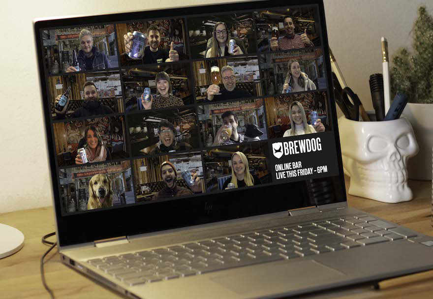 Brewdog öffnet virtuelle Bars