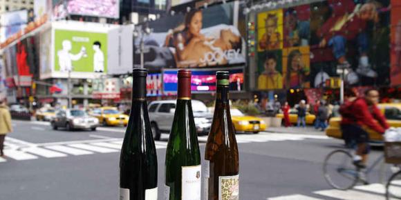 Deutsche Weine im Ausland beliebt