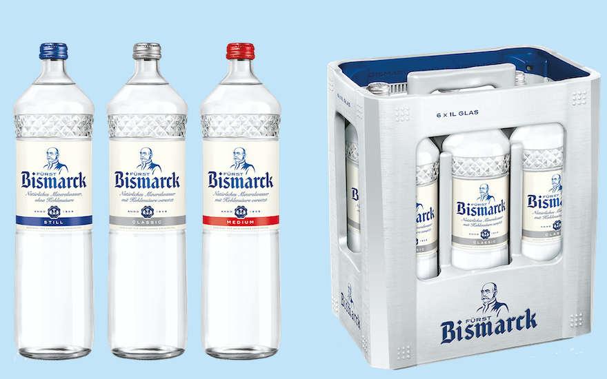 Fürst Bismarck stellt auf Individualflaschen um