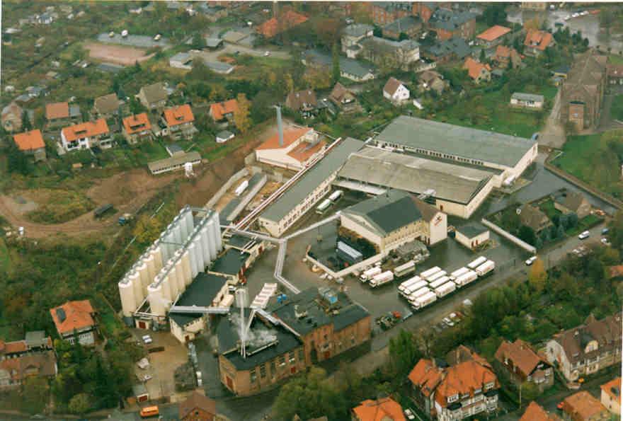 Hasseröder Brauerei im Jahr 1991