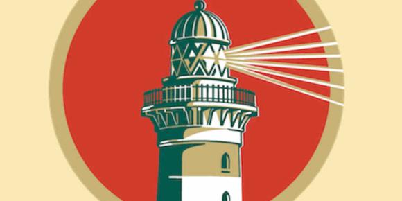 Markenlogo jetzt mit Leuchtturm
