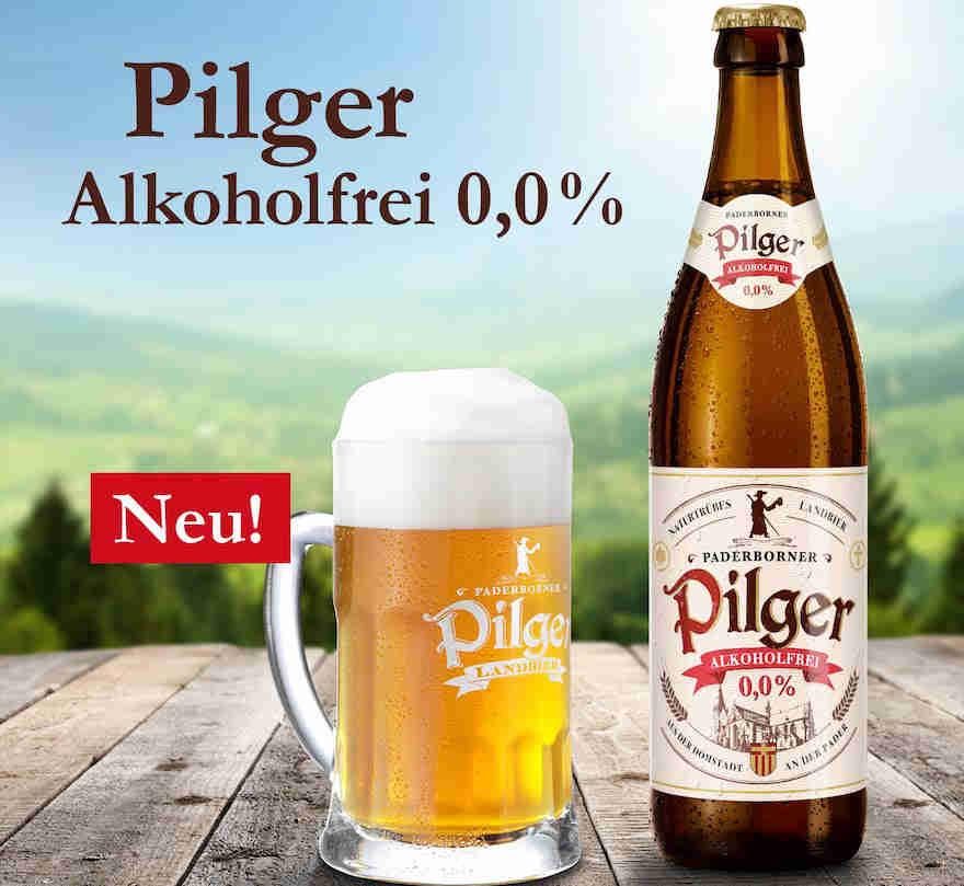 Pilger jetzt alkoholfrei