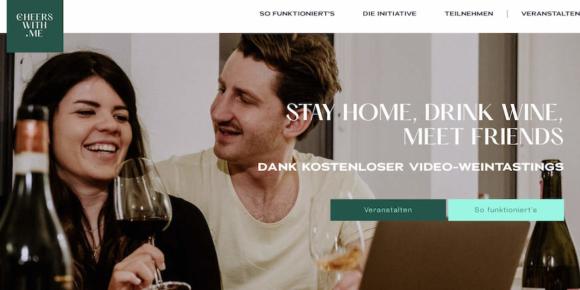 Einladung zu digitalen Weinevents
