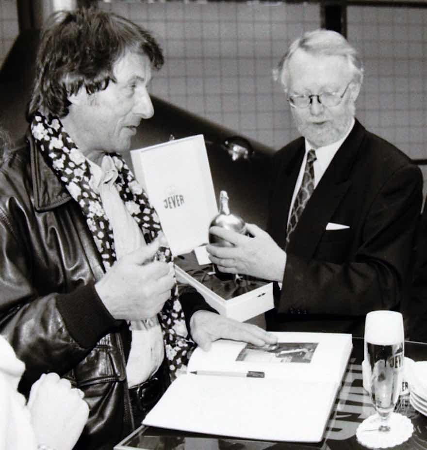 Udo Jürgens und Jever-Legende Bolko Schröder