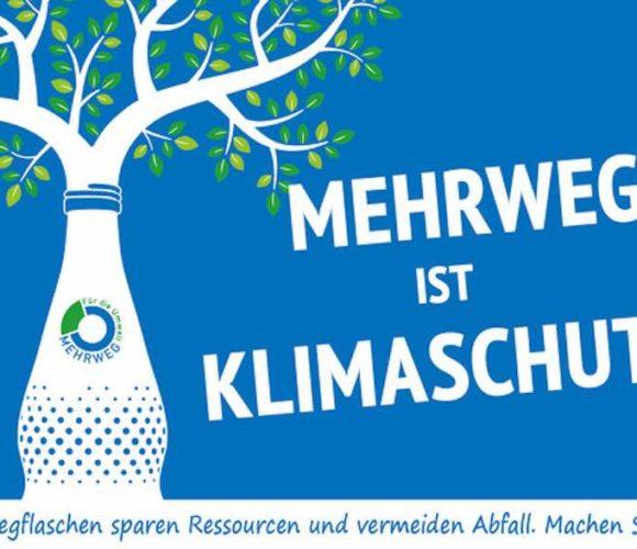 Plakat Mehrweg ist Klimaschutz