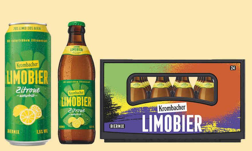 Krombacher bringt Limobier