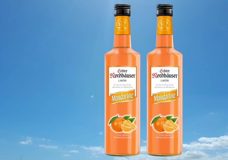 Mandarine ergänzt die Range