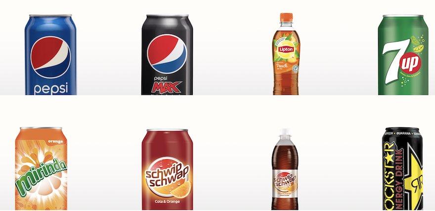 Pepsico Sortiment