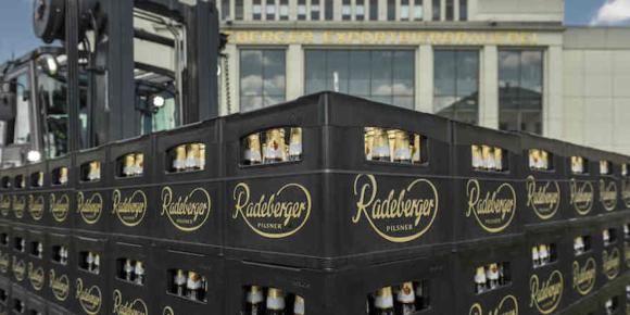 Radeberger startet mit neuem Kasten