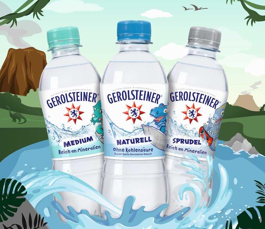 Wasser mit Dinos