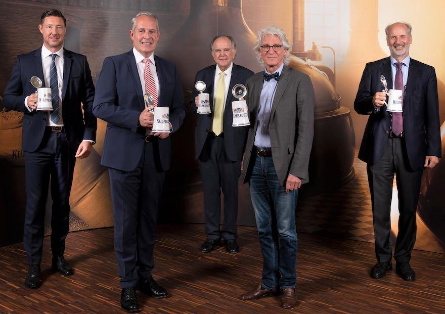 Mathias Keil, Markus Stodden, Hans Albert Ruckdeschel, Dr. Klaus Naeve, Dr. Hermann Brandstetter (v.l.n.r.)