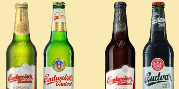 Budweiser Budvar in neuem Design
