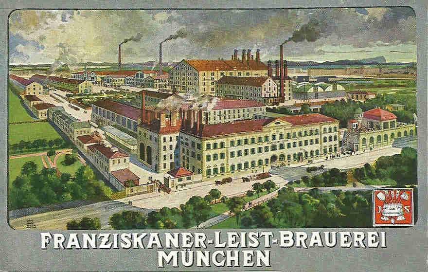 Franziskaner Brauerei 1910