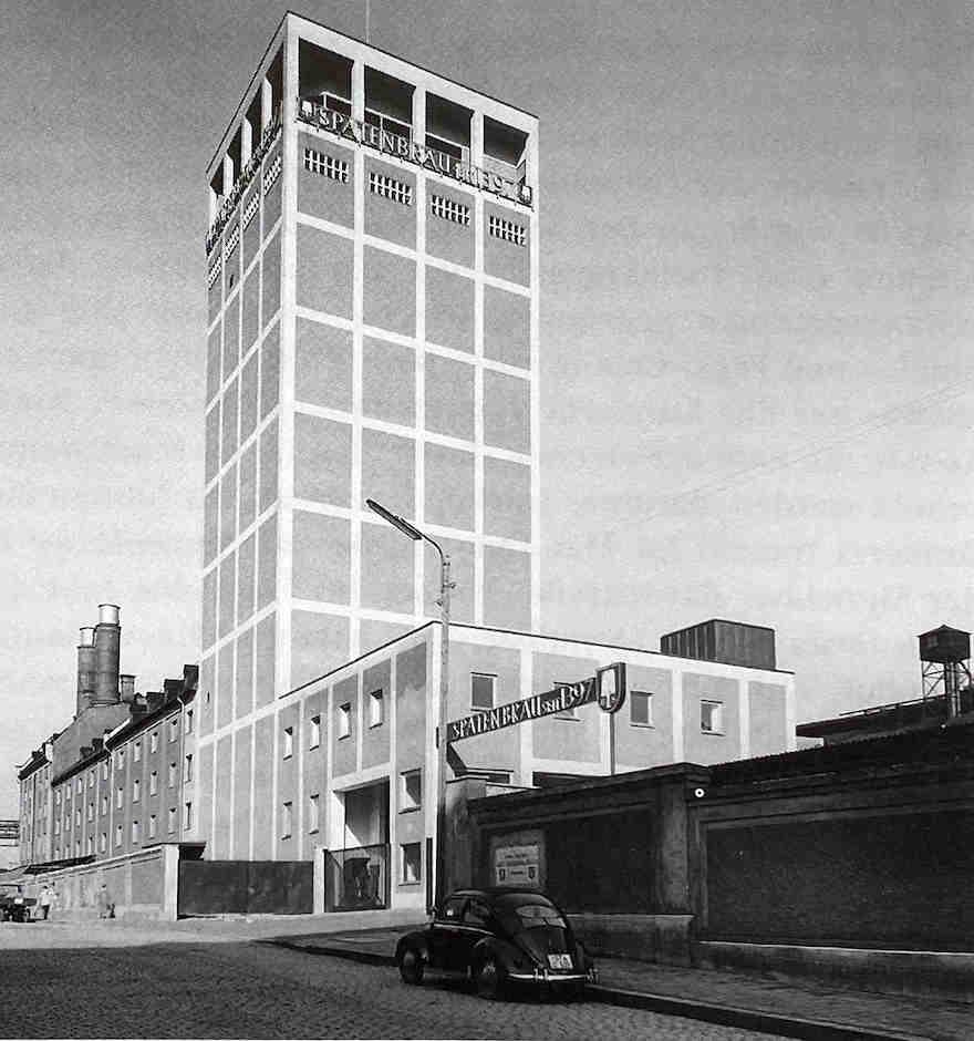 Spaten-Franziskaner Brauerei 1960