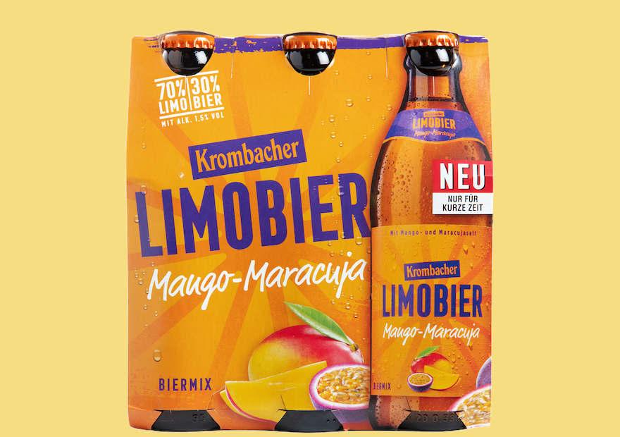 Krombacher bringt zweites Limobier 1