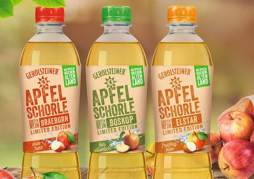 Trio zur Apfelernte