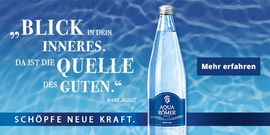 Werbeanzeige Aqua Römer 1