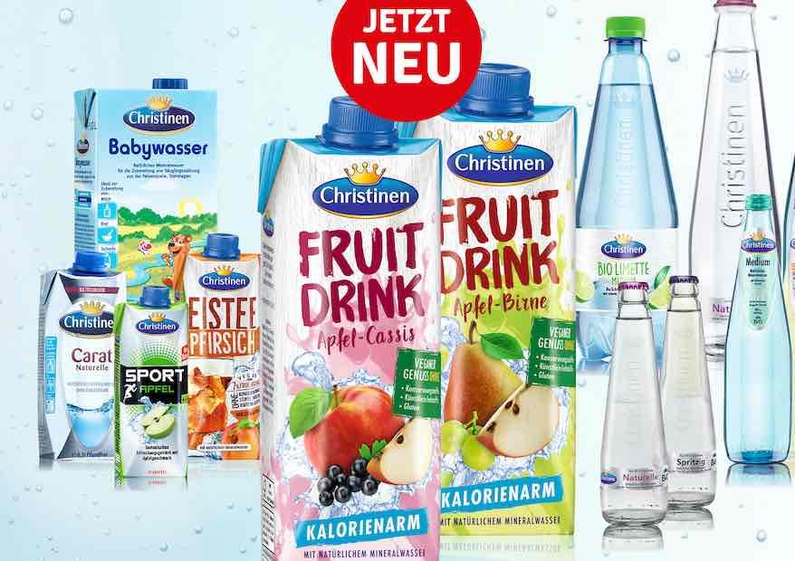 Zwei neue Fruit-Drinks