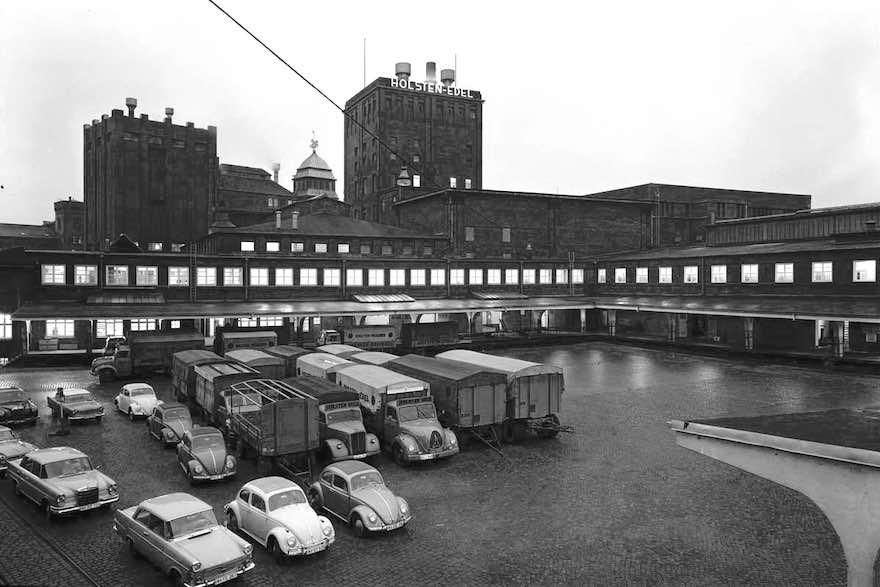 Die Holsten-Brauerei in den 1960er-Jahren