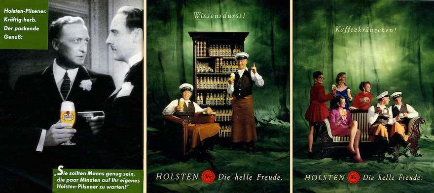Holsten-Reklame von 1987