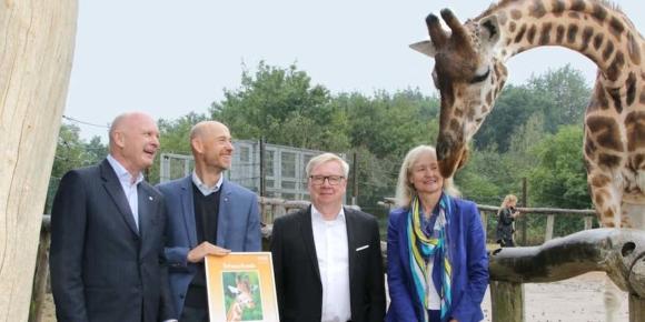 Sinalco verlängert Zoo-Partnerschaft