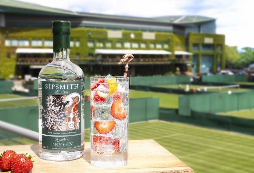 Sipsmith sponsert Wimbledon