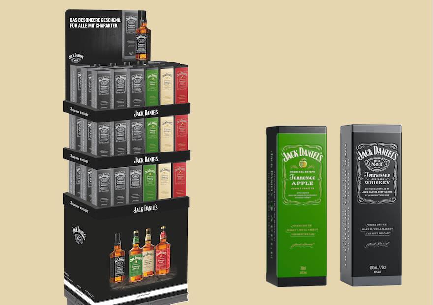 Whiskeys edel verpackt