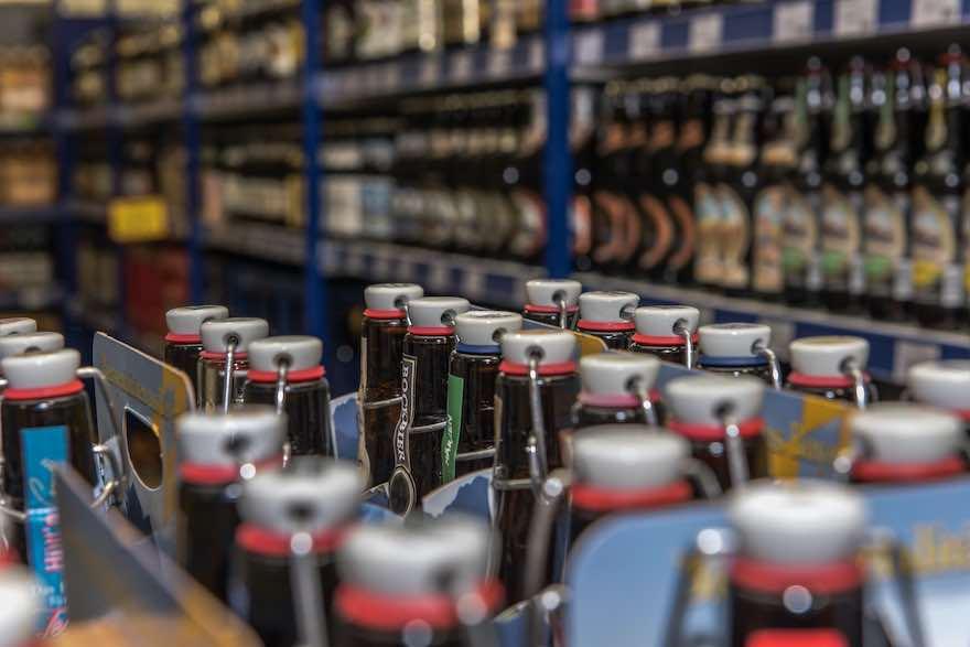 Bier-Verkauf im Handel auf Rekordniveau
