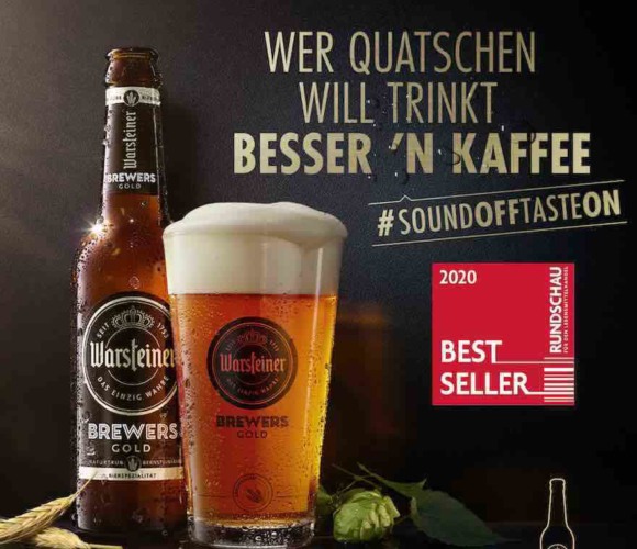 Digital-Kampagne für Brewers Gold