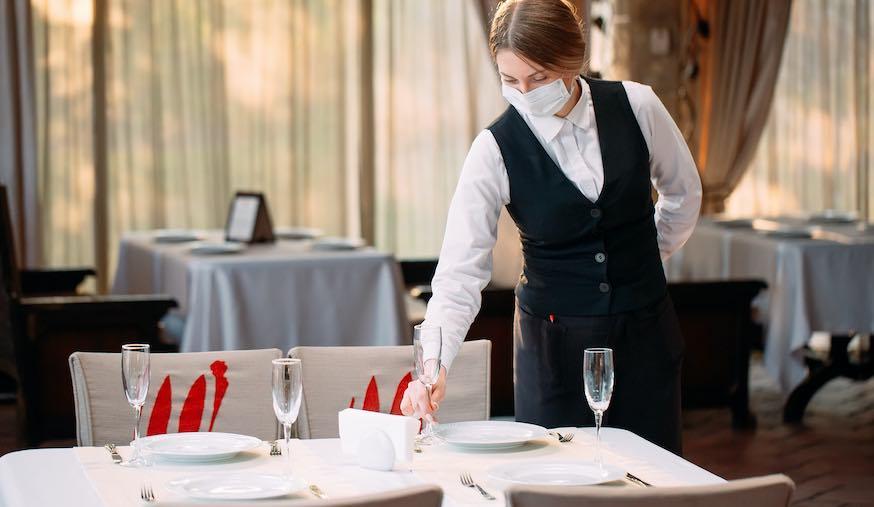 Gastronomie bricht der Umsatz weg