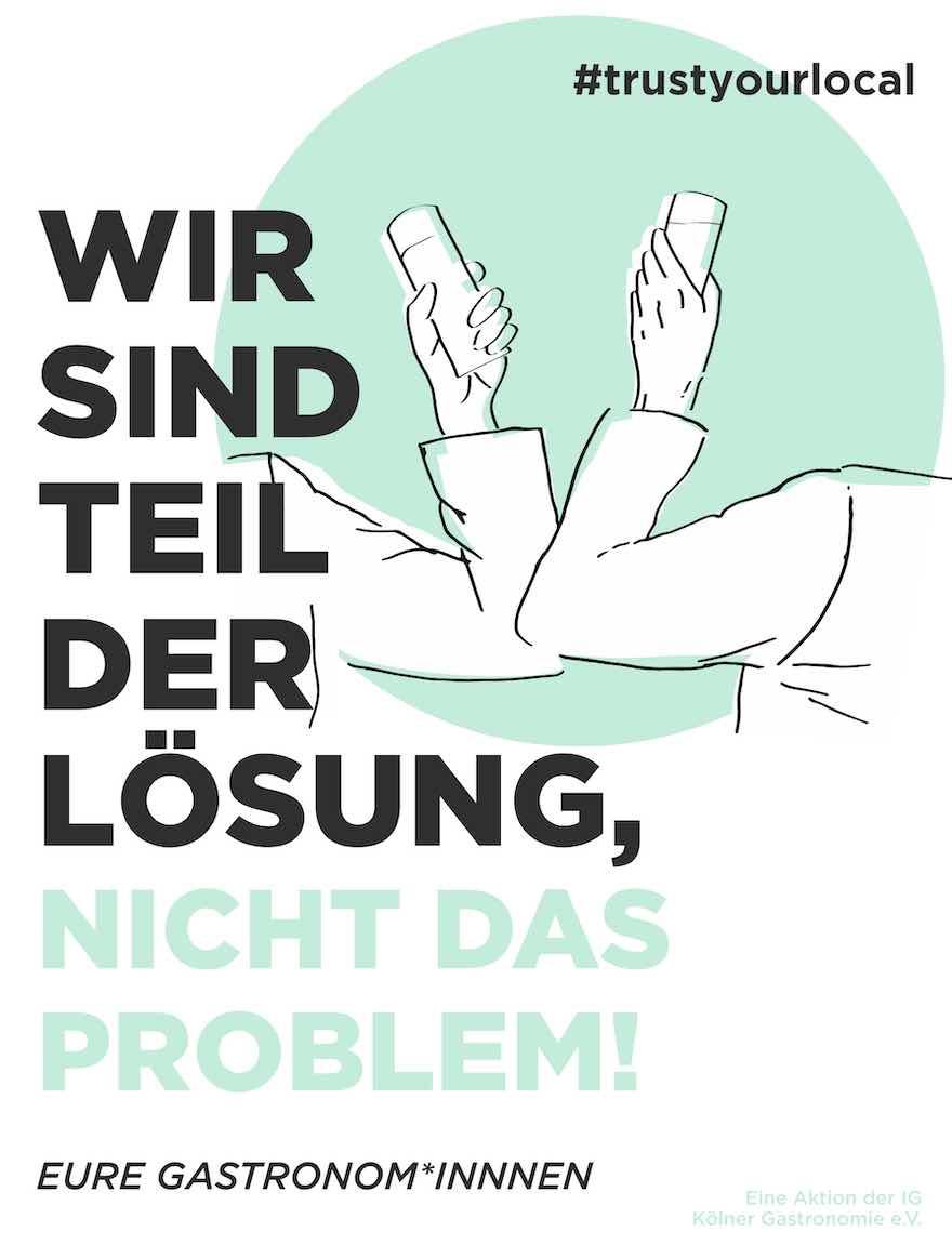 Kampagne für Kölner Wirte