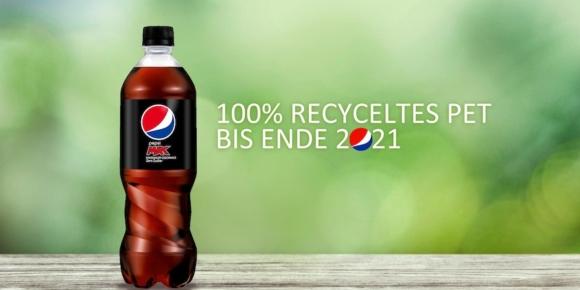 Pepsico setzt auf recyceltes Plastik
