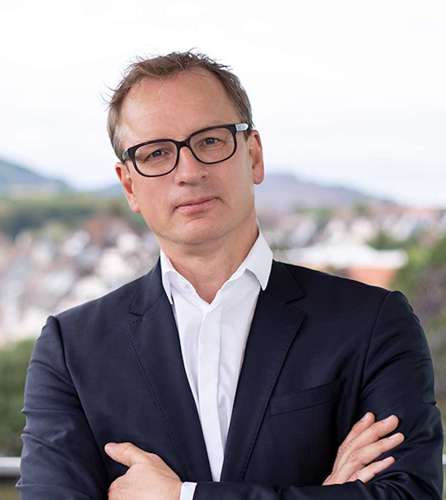 Michael Stadlmann, CEO Trinks Getränkelogistik