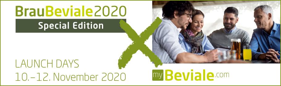 Werbeanzeige BrauBeviale 2020 digital