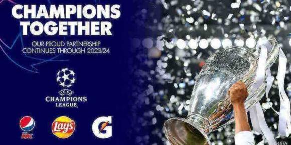 Pepsi verlängert Partnerschaft mit UEFA 1
