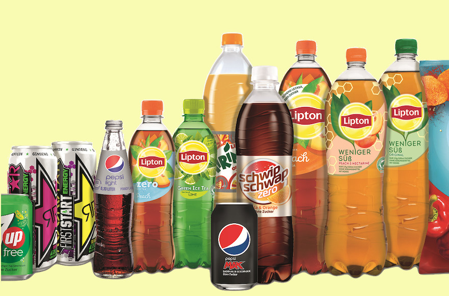 Pepsico fährt Zucker weiter zurück