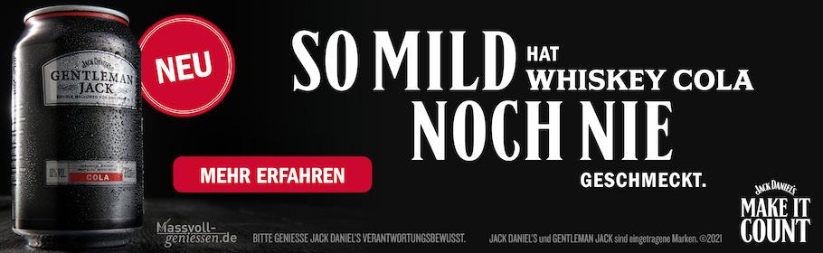 Werbeanzeige Jack Daniel's